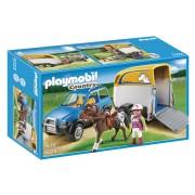 PLAYMOBIL® Voertuig met paardentrailer 5223