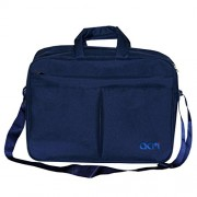 "Acm Executive Office Padded Laptop Bag for Lenovo Ideapad 110 80t70015ih 15.6"" Laptop Blue"