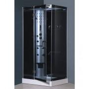 items-france KALOUA HAMMAM - Cabine de douche hammam et hydromassante 100x80x213