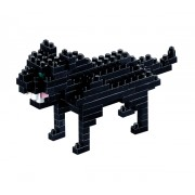 Pantera Neagra. Set Constructie 3D Micro Cub - 200.076