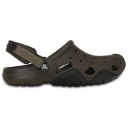Crocs Swiftwater Sandalen Heren bruin 46-47 Sandalen