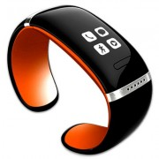 Smart Watch/Armband met Oled touch scherm Zwart/Oranje