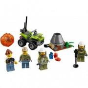 LEGO® City Set pentru începători: Vulcanul 60120