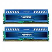 Memorie Patriot Viper 3 Sapphire Blue 8GB (2x4GB) DDR3 1866MHz 1.5V CL9 Dual Channel Kit, PV38G186C9KBL