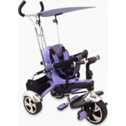 Tricicleta copii Baby Mix GR01 Violet Bonus Leagan flexibil din plastic