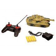 SK Gift Hub Super Military Remote Control Tank, 4 Channel RC Full Function Rechargeable Heavy Tank