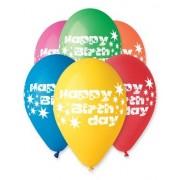 Set 15 baloane HAPPY BIRTHDAY