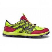 Salming Elements Shoe Women Safety Yellow/Pink gelb / pink Frau UK 4 EU 36 2/3 23cm