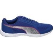 Puma Modern S Flume Casual Shoes(Silver)