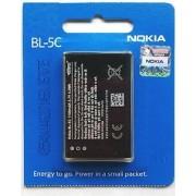 1020 mAh BL-5C Original Battery For Nokia 1100 1101 1110 1110i 1112 1200 1208 1209 1600 1650 1255 1108 1680C 1315 2300 2310 2600 2610 2626 2280 2355 2112 2118 2255 2270 2280 2285 2275 2272 3100 3120 3660 3109 Classic 3110 Classic 3110 Evolve 3600 3610 Fol