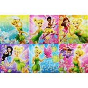 Assorted Tinkerbell 42 Piece Puzzle (3 Pack) - Childrens Beginner Puzzles