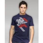 Dubstep navy T-shirt