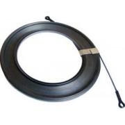 Sondă din bandă metalică (plată) pentru tras conductoare - L=5m, d=3,7mm TBSZF-5 - Tracon