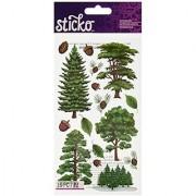 Sticko Majestic Trees Stickers