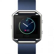 Smartwatch Blaze Fitness Wireless Marimea S Albastru Fitbit