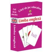 Limba engleza - Carti de joc educative.