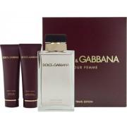 Dolce & Gabbana Pour Femme Woda perfumowana 75ml spray + Balsam do ciała 100ml + Żel pod prysznic 100ml