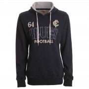 Carlton Blues Ladies Printed Hood
