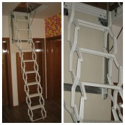 Metalne tavanske stepenice Harmo Lux