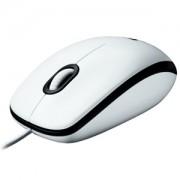 Mouse Logitech Optical M100 white