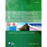 Public Finance and Public Choice by John G. Cullis