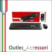 Tastiera e Mouse Keyboard WIRELESS MICROSOFT DESKTOP 800 WIFI per PC Desktop Computer