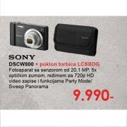 Fotoaparat DSCW800B