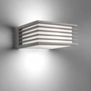 Philips myGarden Shades Wandleuchte B: 17,1 H: 8,2 T: 17 cm, grau/weiß 171828716, EEK: A++. Diese Leuchte ist geeignet für Leuchtmittel der Energieklassen: A+, A, B, C, D, E. Die Leuchte wird verkauft mit einem Leuchtmittel der Energieklasse: A.