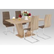 Jedálenský stôl + 4 stoličky GDT-825 SON + WE-5022 COF
