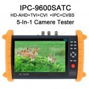 "SeeSii 7"" IPC9600 Touch écran IP Onvif HD-AHD caméra analogique testeur moniteur POE WiFi IP caméra testeur (IPC-9600SATC)"