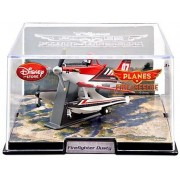 "Disney Planes ""2"" Exclusive Die Cast Plane Firefighter Dusty (Scale 1 : 43)"