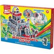 Sa coloram- Castelul cavalerilor