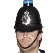 Smiffys - Casque De Policier Avec Gyrophare Bleu