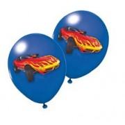 Baloane Racing Albastre Set 6
