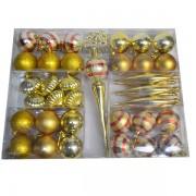 Set 36 de ornamente pentru brad
