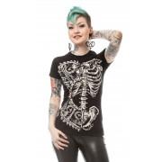 T-shirt koszulka - BONE CORSET
