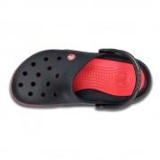 【セール実施中】【送料無料】14300 front court clog フロント コート クロッグ Black / Red