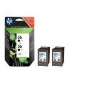 TIN HP C6656A Black 19ml 2er Sparpack