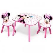 Set Delta Children Minnie Mouse Pink Fruits
