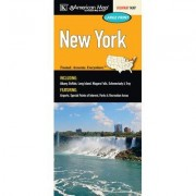 Universal Map New York Large Print Fold Map 14487