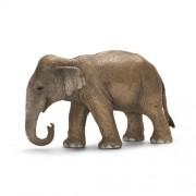 Schleich Asian Female Elephant Toy Figure