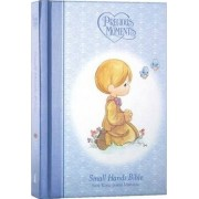 Precious Moments Holy Bible - Blue NKJV by Thomas Nelson
