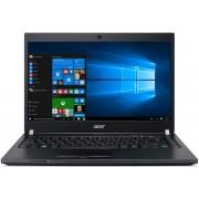 "Laptop Acer TravelMate TMP648 (Procesor Intel® Core™ i7-6500U (4M Cache, up to 3.10 GHz), Skylake, 14""FHD, 12GB, 1TB + 256GB SSD, nVidia GeForce 940M@2GB, Wireless AC, Tastatura iluminata, FPR, Win10 Pro 64)"