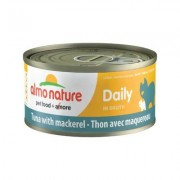 Almo Nature Daily Tuna with Mackerel in Broth Grain-Free Canned Cat Food, 2.47-oz, case of 24