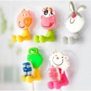 Zvířátkový držák na zubní kartáček s přísavkou, Druh Zajíček