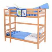 Dečiji krevet na sprat Daniel Natur Space