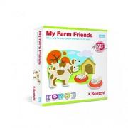 Halilit - Scotchi, I miei amici della fattoria, Gioco in scatola per bambini [Lingua inglese]