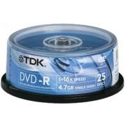 DVD+R TDK cake 25