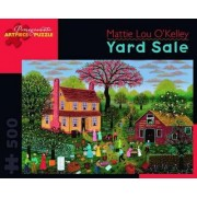Yard Sale 500 Piece Jigsaw Puzzle Aa750 by Mattie Lou O'Kelley