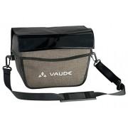 VAUDE, bolsa para portaequipajes de bicicleta Deluxe Aqua Box, color marrón/Wood (Black)